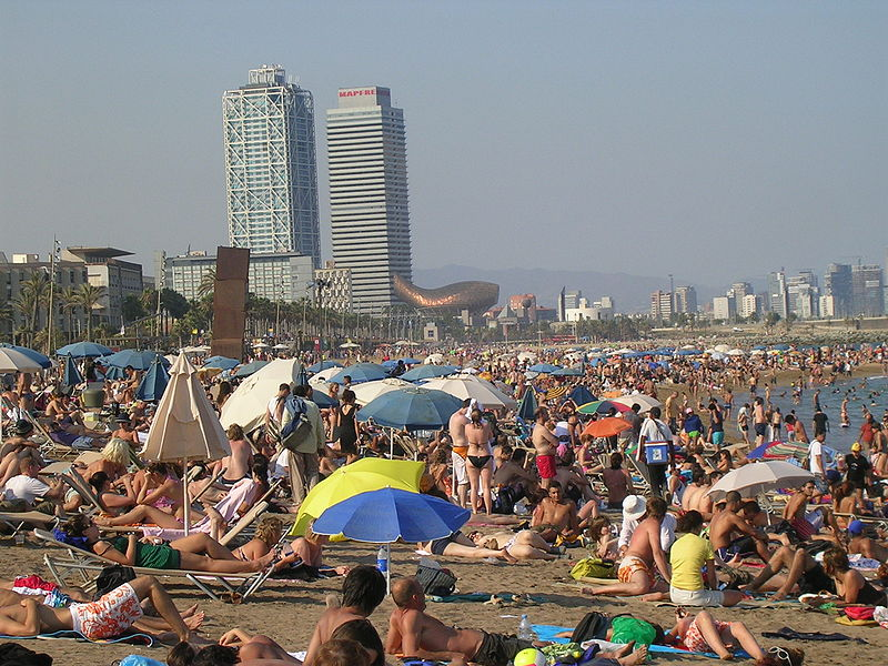 Beach of Barceloneta